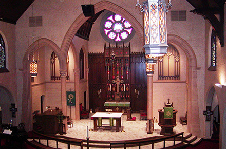 Rossi Construction - Atonement Lutheran Church Sanctuary - Racine